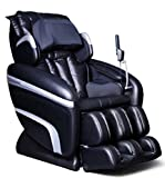 Osaki - Executive Zero Gravity S-Track Heating Massage Chair OS-7200H Black
