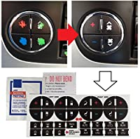 AC Dash Button Repair Kit For GM, Tahoe, Suburban, Avalanche, Silverado, Yukon, Denali, Acadia, Sierra, Saturn Outlook, Buick Enclave - Fix damaged A/C Controls For General Motors SUV Trucks
