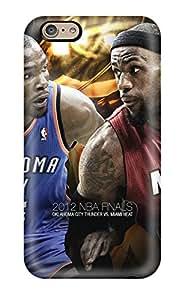 Defender Case For Iphone 6, Oklahoma City Thunder Basketball Nba Miami Heat Pattern