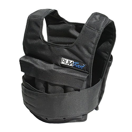 RUNFast Pro Weighted Vest, 20 lb.