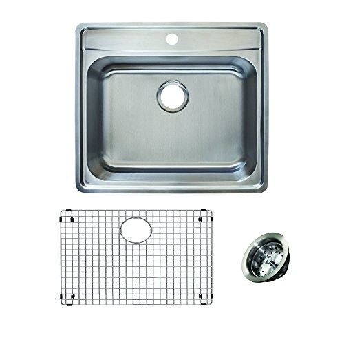 Franke Evolution All-in-One 25 Wide 8-inch Deep Top Mount 1-