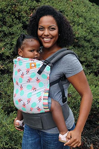 Tula Ergonomic Carrier, Pineapple Palm-Standard Size(Baby), 15-45 Pounds