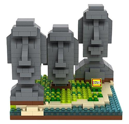 LOZ Building & Construction 9378 Easter Island Building Blocks (440 Piece)