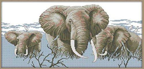 Holy Elephant (Happy Forever Cross Stitch,Animals, holy elephant)