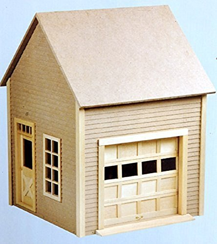 Dollhouse Unfinished Garage Kit by Houseworks by Dollhouse Miniature