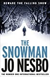 Front cover for the book The Snowman by Jo Nesbo