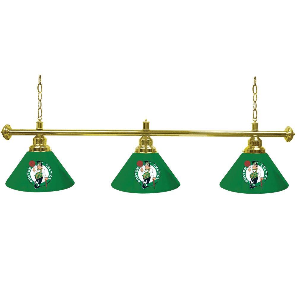 Boston Celtics NBA 3 Shade Billiard Lamp