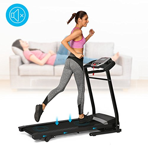 Cosway Folding Treadmill Electric Support Motorized Power Running Fitness Jogging Incline Machine for Home/Office Exercise[US STOCK]