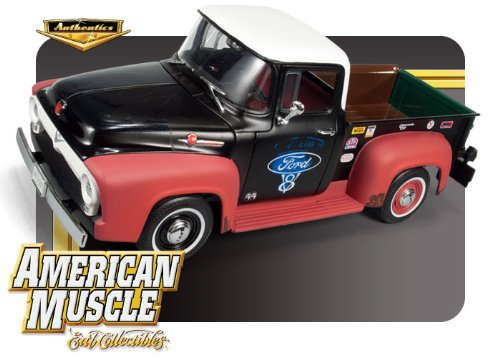 1956 Ford F-100 Pickup Truck Rat Rod 1:18 1 of 750 Made Rat Rod Pickups