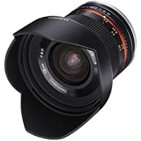 Samyang SY12M-MFT-BK 12mm F2.0 Ultra Wide Angle Fixed Lens for Olympus/Panasonic Micro 4/3 Cameras, Black Basic Facts Review Image