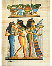 Pharaonic Papyrus Without Frame