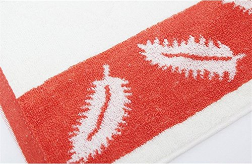 Amazon.com: Lictory 1pcs Feather Pattern jacquard Soft Face Towel Cotton Hair Hand Bathroom Towels badlaken toalla Toallas Mano Gift pink: Home & Kitchen