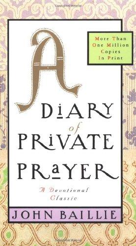 A Diary of Private Prayer ()