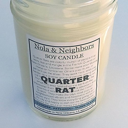 Cedar Quarter Round (Hippie Candle - Quarter Rat- Lavender candle - Patchouli candle - Ylang candle - Herbal candle)