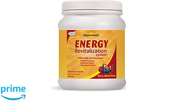 Enzymatic Therapy, Fatigado de Fantástico! Sistema de Revitalización de la Energía, 612g: Amazon.es: Salud y cuidado personal