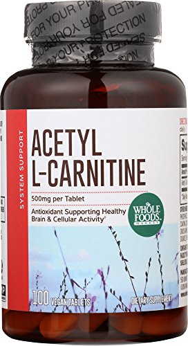 Whole Foods Market, Acetyl L-Carnitine 500mg, 100 ()