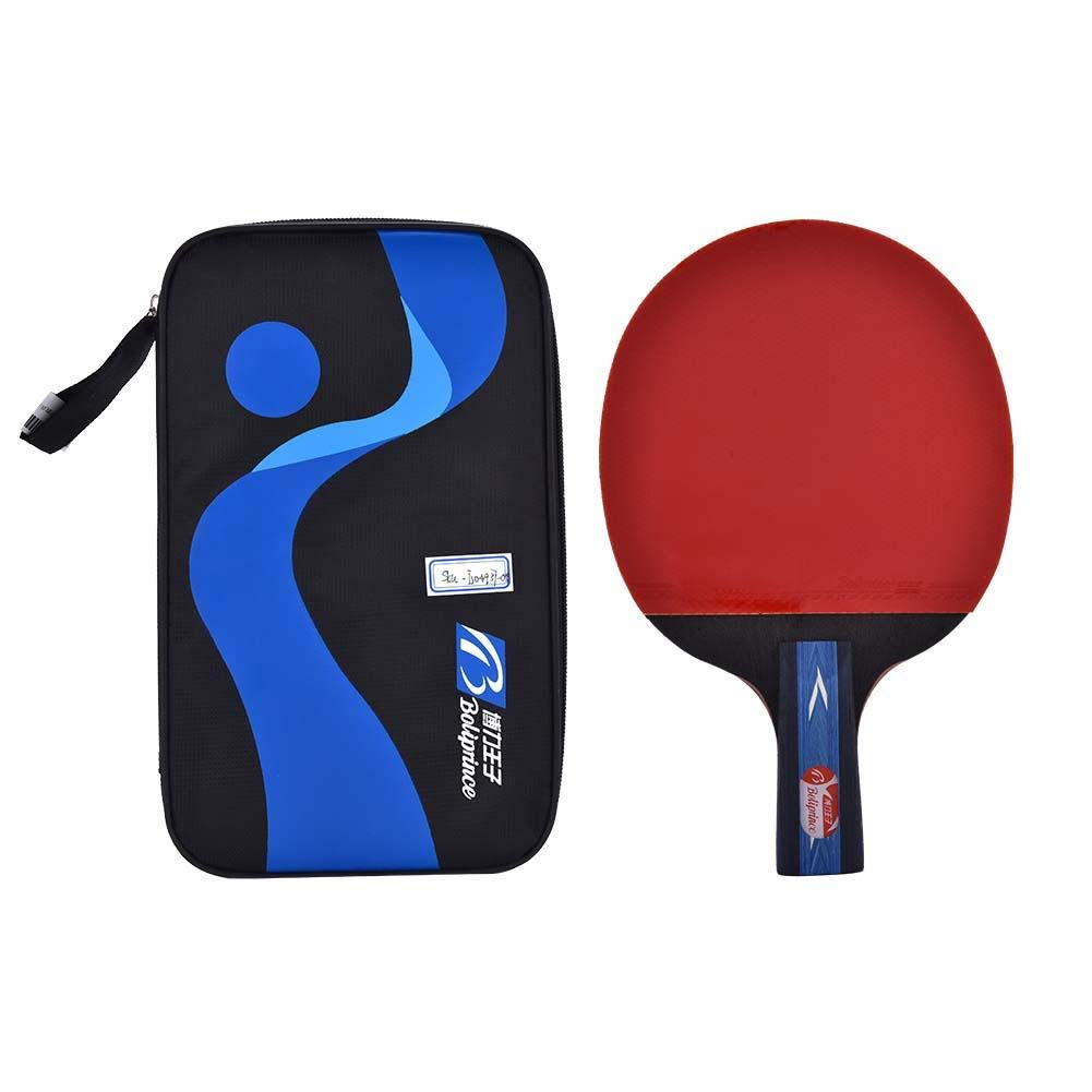 1 Pc Table Tennis Bat Ping Pong Paddle & Protective Case Professional Table Tennis Set Dilwe