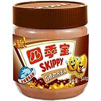 四季宝巧克力味花生酱340g