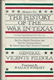 img - for 1: Memoirs for the History of the War in Texas book / textbook / text book