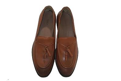 1892167870 ZARA MAN Men's Leather Formal Shoes tan Size 9: Buy Online at Low ...