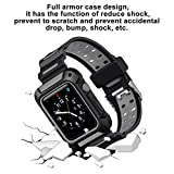 Blulu Watch Band 42 MM Case, Shockproof Rugged