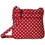 Vera Bradley(ベラブラッドリー) レディース 女性用 バッグ 鞄 バックパック リュック Triple Zip Hipster - Red/White Mini Concerto [並行輸入品]