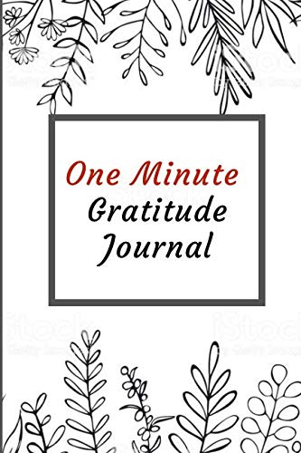 One Minute Gratitude Journal: A challenge to greater Joy, Deeper Happiness and More Gratitude!