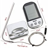 Zehui Long Range Digital Meat Thermometer With Probe Wireless...