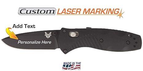Amazon.com: Cuchillo personalizado con grabado láser en ...