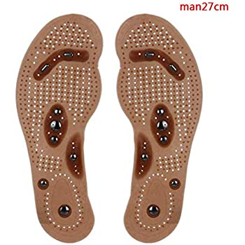 1Pair Massage Insoles Health Foot Magnetic Therapy Magnet Acupressure Shoe/Boots Pads for Men Women