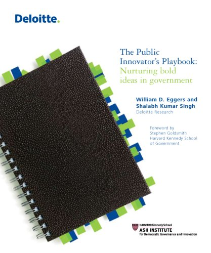 The Public Innovator's Playbook: Nurturing Bold Ideas in Government