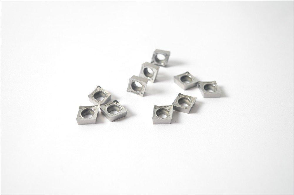 ZIMING--1 10pcs CCGT09T308-AK H01 CCGT32.52-AK Carbide Inserts For Processing Aluminum Cutting Inserts