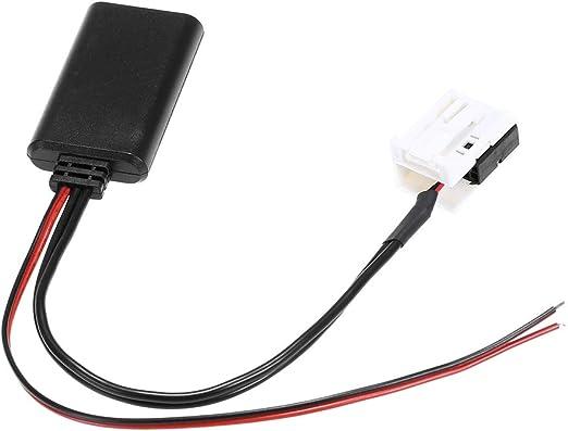 Kkmoon Aux Kabel Audio Kabel Adapter 12pin Für Peugeot 207 307 407 308 Citroen C3 C2 Rd4 Bt Stereo Funk Auto