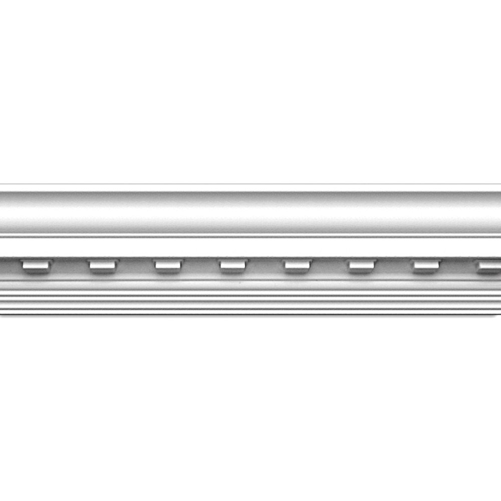 Focal Point 23130 4 1/8-Inch Concord Dentil Crown Moulding 4 1/8-Inch by 8 Foot, Primed White, 8-Pack