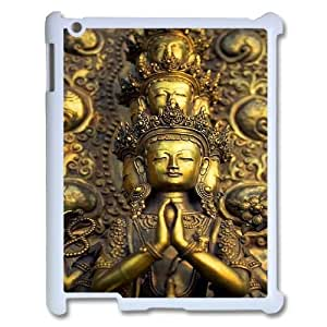 Customized iPad2,iPad3,iPad4 Case, Golden Buddha quote Cheap Phone Case