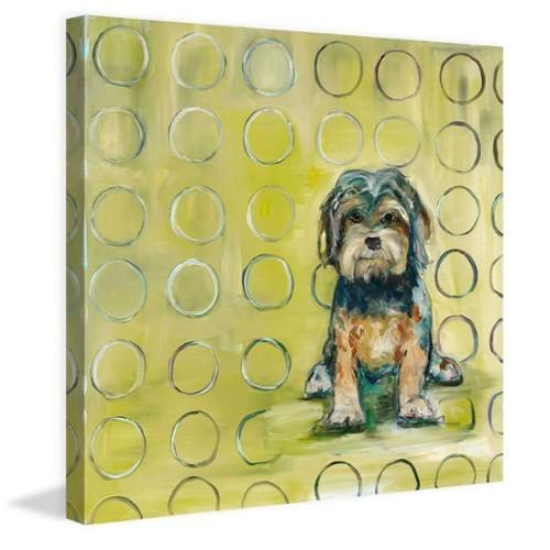 (Marmont Hill 24x24 Baxter by Tori Campisi Painting Print on Wrapped Canvas, 24
