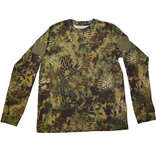 50ec125a Kryptek Men's Stalker T-Shirt Long Sleeve Cotton from Kryptek ...