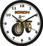 ROKON MOTORCYCLE WALL CLOCK-Free USA Ship