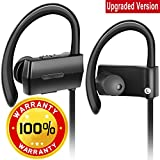 Bluetooth Headphones, In-Ear Wireless Earbuds 4.1 with Mic IPX5 Waterproof Sweatproof Noise Reduction Bluetooth Earphones HD Stereo Earbuds For Gym Running Workout 7 Hours Battery Headsets SIFREE