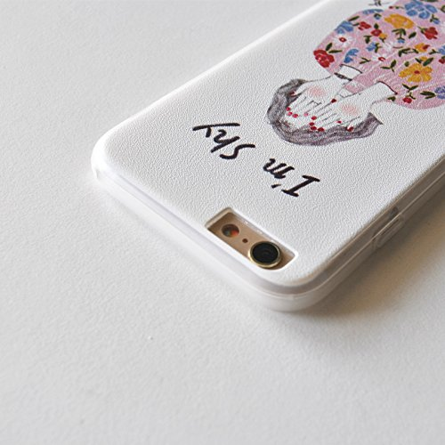 iPhone SE Fall, pictureslab Weich TPU Kunst Malerei Schutzhülle für iphonese/5S/5