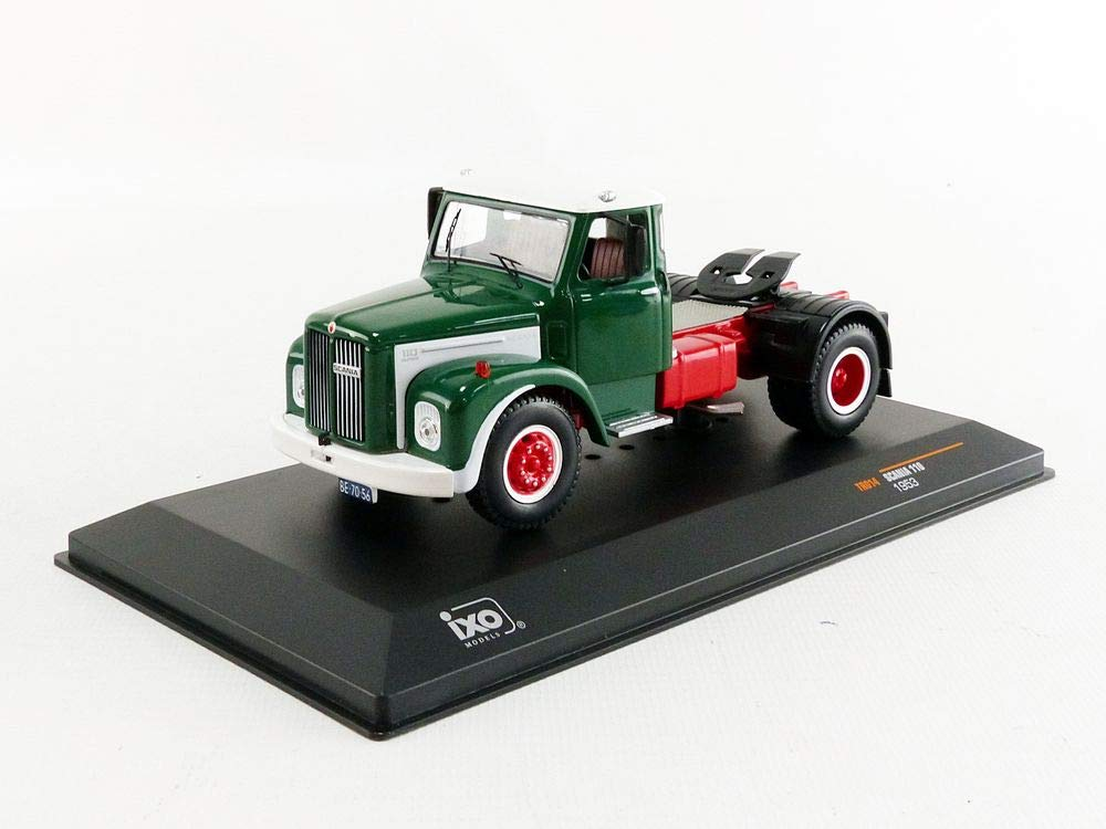 IXO TR014 Miniature Collection Car Green / White / Red