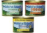 Natural Balance Limited Ingredient Diets Wet Dog Food Variety Pack (4) Duck & Potato (4) Fish & Sweet Potato (4) Chicken & Sweet Potato