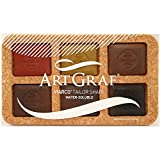 Speedball Art Products 500505 Artgraf Watersoluable Graphite Squares 6/Pkg-Earth Tone
