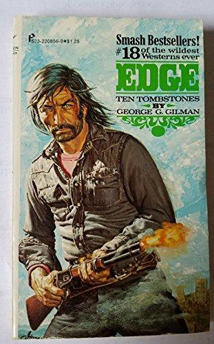book cover of Ten Tombstones to Texas