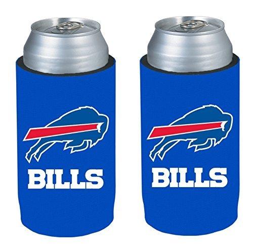 Buffalo Bills NFL 2013 Football Ultra Slim Beer Can Holder Koozie 2Pack  Pick your team