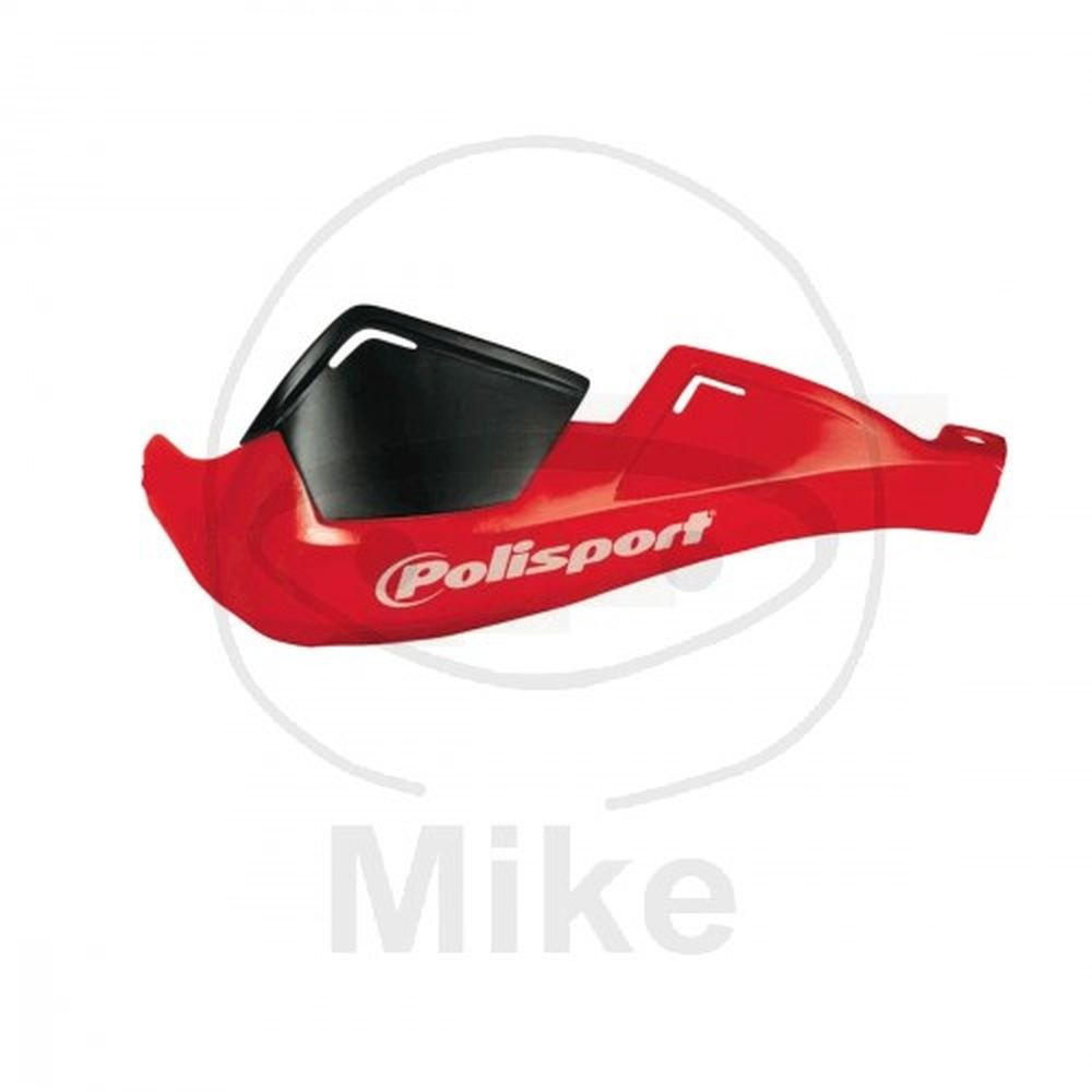 Polisport Protè ges Mains Inté graux Evolution Rouge Universels Guidon 22mm 7/8
