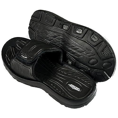433c14b3bef Men s Slides Slip On Sandal Slipper Comfortable Shower Beach Shoe Flip Flop  high-quality