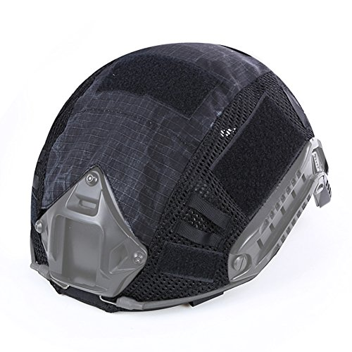 WarmHeartting Tactical Helmet Cover for Fast MH/PJ/BJ Helmet Camouflage Airsoft Headwear Accessories