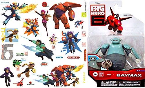 Disney Pixar Figure Pack Baymax & Big Hero 6 Wall Graphix Peel and Stick Giant Wall Decals