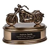 Perfect Memorials Custom Engraved Motorcycle Cremation Urn